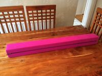 Folding Gymnastics Training Balance Beam