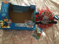 Paw patrol rescue driver with box