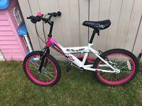"Girl's 18"" Zinc 'LOL' bike for sale"