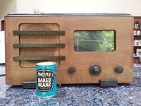 Vintage large radio