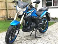 2015 Lexmoto ZX-R 125cc Motorcycle Motorbike