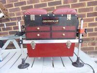 Grandslam fishing seat box.