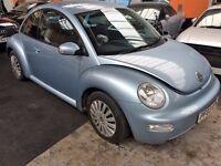 VW BEATLE 1.6 SPARES OR REPAIR