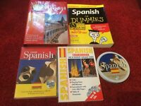 Beginners Spanish Books and Audio CD's
