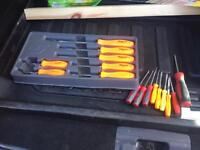 Snap on screwdrivers 16 total