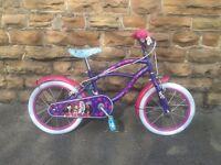 """New Bratz Cruiser 16"""" Girls Bike - Beach LoRider - RRP £225"""