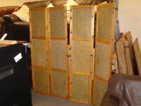 Interior Closet Pine Framed Doors