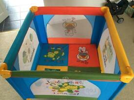 Travel cot and playpen