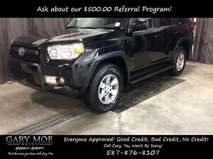 2012 Toyota 4Runner SR5 4x4, Leather Heated Seats, Sunroof