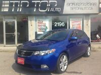 2011 Kia Forte5 SX ** Leather, Bluetooth, Sunroof **