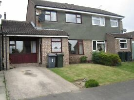 3/4 bed semi for rent Thorpe Hesley. Available immediately.