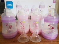 MAM Newborn Bottles
