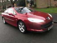 PEUGEOT 407 GT SEMI-AUTOMATIC 2.7 DIESEL....COUPE, 2007 (07 PLATE)
