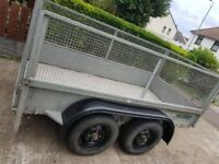 NUGENT 8.5M X 4.5M 2.5TONNE GALVANISED TRAILER (PLATED)