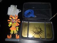 Nintendo New 3DS XL Majora's Mask Limited Edition Gold