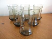 SET OF 6 SHAPED SMALL TUMBLERS