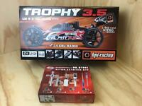 HPI Racing Nitro Off Road 1/8th Trophy 3.5 Buggy 2.4Ghz RTR