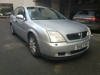 VAUXHALL VECTRA AUTOMATIC 2004 LADY OWNER 1 YEAR MOT
