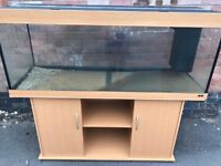 5ft Juwel Rio 400 in beachwood marine tropical fish tank aquarium (delivery / installation )