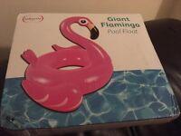 New Giant Flamingo Pool Float