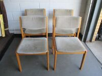 SET OF FOUR 4 DINING CHAIRS FREE DELIVERY