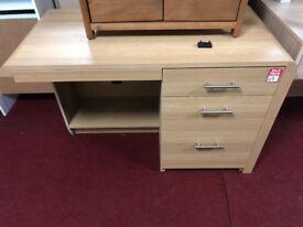 3 drwr desk