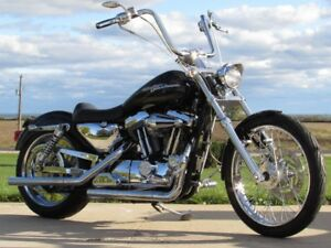 2001 Harley-Davidson XL1200C Custom  $22 weekly! Tons of Chrome!