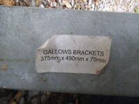 Gallows Bracket 375 x 490 x 75 mm