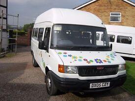 Minibus LDV 10 months mot, low miles 130,000,minibus,2.4 diesel drives great ,