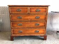 Solid wood Chest of Drawers Free Delivery Ldn Vintage/Antique