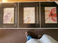 Set Of 3 Vintage Frames