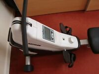 KETTLER COACH M ROWING MACHINE AS NEW