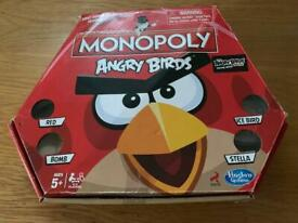 Angry Birds Monopoly Board Game *Buyer collects