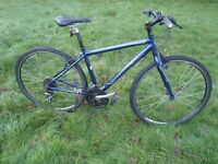 "Trek 7.1FX Hybrid 17.5"" - Light and Comfortable - V Good Condition - Alu Frame/21 spd bike/Canti Brk"