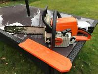 Stihl Ms210 chainsaw