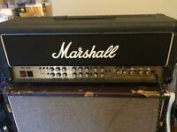 Marshall JCM 2000 TSL100 Amplifier Head, With Flight Case
