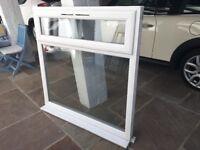 UPVC Double Glazed, White, Top Opening Window