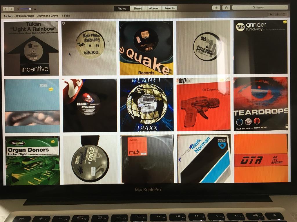 60 Trance Vinyl & a Technics bag