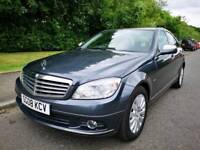 MERCEDES BENZ C180 KOMPRESSOR , AUTOMATIC , FULL LEATHER , SERVICE HISTORY, MOT22 DEC ,