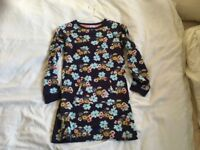 3 x Age 8 John Lewis dresses. All with long sleeves and ideal for Autumn.