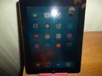 Tablet *** Apple iPad2 Model A1396 Colour Black – 16 GB Wifi & CELLULAR (Unlocked)
