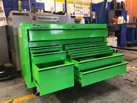 "REDUCED 53 "" SNAP ON MONSTER GREEN BRAND NEW TOOL BOX FOR SALE"