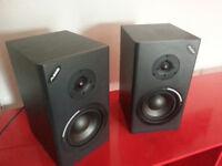 200W Alesis MKII Passive Studio Monitors