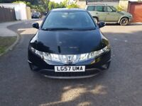 2008 Honda Civic 1.8 i-VTEC SE 5dr Manual @07445775115