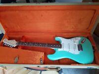 Fender Jeff Beck Stratocaster Surf Green 2009