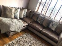 DFS sofa nearly new