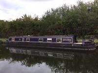 62ft Narrow boat