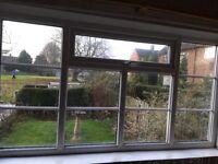 Double glaze window as new 225mm Wide x 124mm high