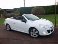 2012 RENAULT MEGANE DCI DYNAMIQUE TOMTOM CONVERTIBLE *LOW MILES* GREAT VALUE!!!