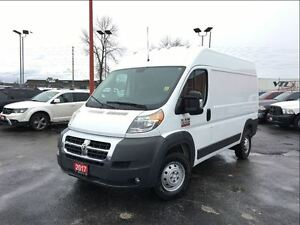 2017 Ram ProMaster 1500 136 HIGH ROOF**CARGO PARTITION**BACK UP